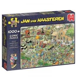 Jan van Haasteren Jumbo puzzel 19063 Jan van Haasteren: Boerderij bezoek 1000 stukjes