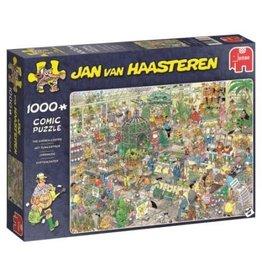 Jan van Haasteren Jumbo puzzel 19066 Jan van Haasteren: Het Tuincenrum 1000 stukjes