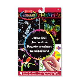 Melissa & Doug Melissa&Doug 15804 Scratch Art-Bladen: Combinatiepakket