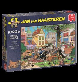 Jumbo Jumbo puzzel Jan van Haasteren: Vang die kat!! 1000 stukjes