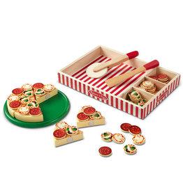 Melissa & Doug Melissa&Doug 10167 Houten Pizza (63 stuks)