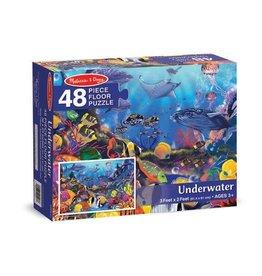 Melissa & Doug Melissa&Doug 10427 Vloerpuzzel Onderwaterwereld (48 stukjes)