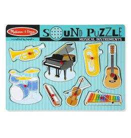 Melissa & Doug Melissa&Doug 10732 Geluidspuzzel Muziekinstrumenten (8 stukjes)