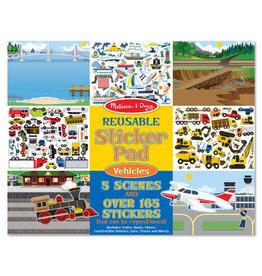 Melissa & Doug Melissa&Doug 14199 Herbruikbaar Stickerboek Voertuigen