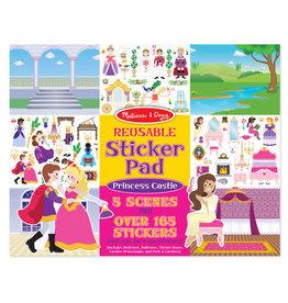 Melissa & Doug Melissa&Doug 14306 Herbruikbaar Stickerboek Prinsessenkasteel