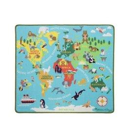 Melissa & Doug Melissa&Doug 15194 Speelkleed Reis rond de Wereld  (100 cm x 90 cm)