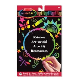 Melissa & Doug Rainbow - Scratch Art Sheets