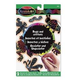 Melissa & Doug Melissa&Doug 15825 Scratch Art-Bladen: Insecten