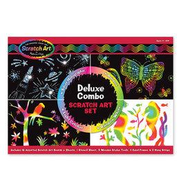 Melissa & Doug Melissa&Doug 15981 Scratch Art-Bladen Deluxe: Combinatiepakket