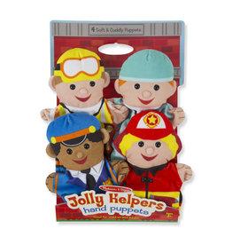 Melissa & Doug Melissa&Doug 19086 Handpoppen Jolly Helpers