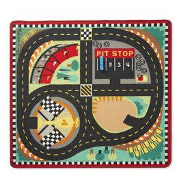 Melissa & Doug Melissa&Doug 19401 Speelkleed met supersnel Race Circuit  (100 cm x 90 cm)