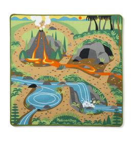 Melissa & Doug Melissa&Doug 19427 Speelkleed met Prehistorische Speeltuin voor Dino's (100 cm x 90 xm)