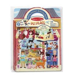 Melissa & Doug Melissa&Doug 19429 Activiteitenboek met Extradikke Stickers Dierenplekjes