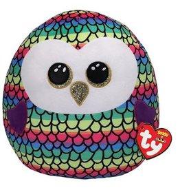 Ty Ty Squish a Boo Owen Owl 31 cm