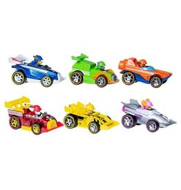 Paw Patrol Paw Patrol Race Rescue Metal Vehicle  6pack