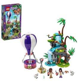 Lego Friends LEGO Friends Tijger reddingsactie met luchtballon in jungle  41423