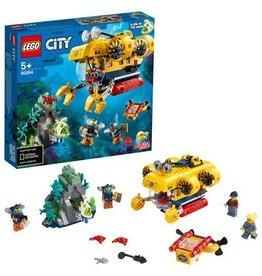 Lego City LEGO City Oceaan Verkenningsduikboot  60264