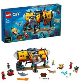 Lego City LEGO City Oceaan Onderzoeksbasis  60265