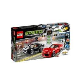 Lego Speed Champions LEGO Speed Champions Chevrolet Camaro Drag Race  75874