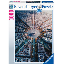 Ravensburger Ravensburger puzzel 159901 Parijs van bovenaf gezien 1000 stukjes