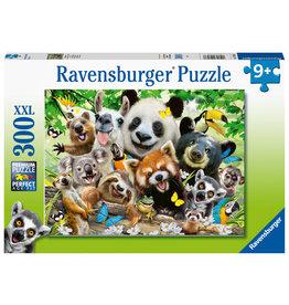 Ravensburger Ravensburger puzzel 128938 Wildlife selfie 300 stukjes