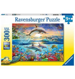 Ravensburger Ravensburger puzzel: Dolfijnenparadijs 300XXL