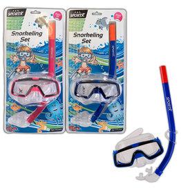 Sportx SportX Kids Snorkelset ***  blauw of roze
