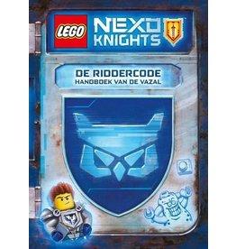 Meis en maas Lego Nexo Knights De Riddercode, handboek van een vazal