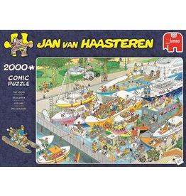 Jan van Haasteren Jumbo puzzel Jan van Haasteren: de Sluizen 2000 sukjes