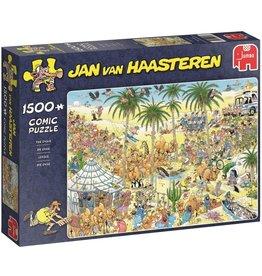 Jan van Haasteren Jumbo puzzel Jan van Haasteren 19059: De Oase  1500 stukjes