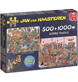 Jan van Haasteren Jumbo puzzel 19058 Jan van Haasteren: Feestje 500/1000 stukjes
