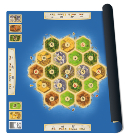 999 Games 999 Games: Playmat Catan Gold