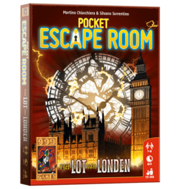999 Games 999 Games:  Escape Room Pocket: Het Lot Van Londen