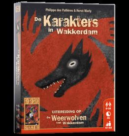 999 Games 999 Games: De Weerwolven van Wakkerdam: Karakters
