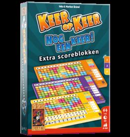 999 Games 999 Games: Keer op Keer Scoreblok 3 stuks Level 2, 3 en 4