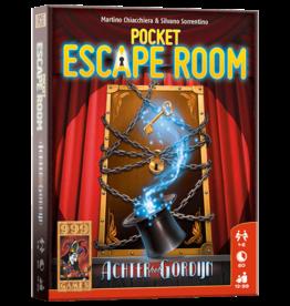 999 Games 999 Games: Pocket Escape Room: Achter het Gordijn