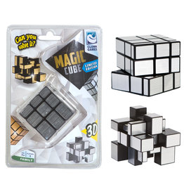 Clown Games Clown Magic Puzzle Cube Silver