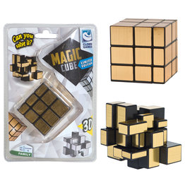 Clown Games Clown Magic Puzzle Cube Gold