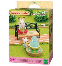 Sylvanian Families Sylvanian families 4535 Bankje & Fontein