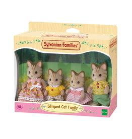 Sylvanian Families Sylvanian Families 5180 Familie Gestreepte Kat