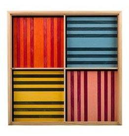 Kapla KAPLA 100 8 kleuren assorti (verpakt in kist)