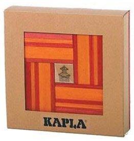 Kapla KAPLA 40 Nr 22 Rood/Oranje met boek (verpakt in doos)