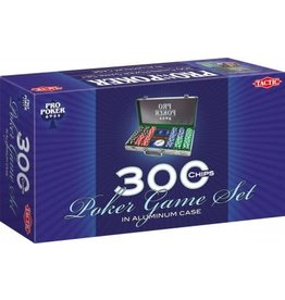 Tactic Tactic Pro Poker Set Case 300 Chips 11,5 Gram