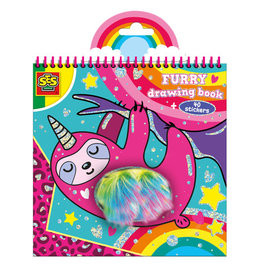 SES Creative SES Creative Pluche kleurboek   00112