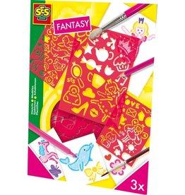 SES Creative SES  Sjablonenset Fantasie   00353