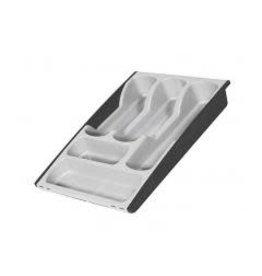 Curver Bestekbak Verstelbaar Zilver/Antraciet