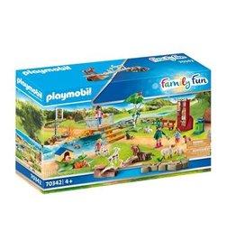 Playmobil PLAYMOBIL 70342 Family Fun Grote kinderboerderij