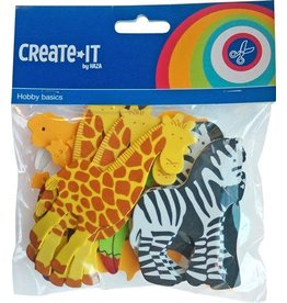 Haza Create-It  32 Foam Dieren