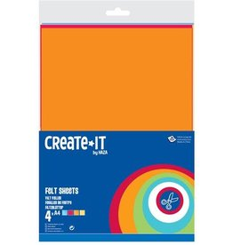 Create-It Haza Create-It  4Vel Vilt A4
