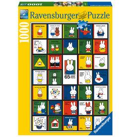 Ravensburger Ravensburger puzzel Nijntjes 65e verjaardag  1000 stukjes